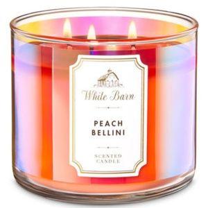 Bath and Body Works Peach Bellini Candle